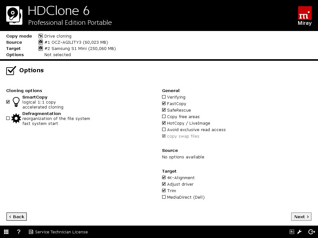 HDClone 8 Professional Edition Portable | Miray Software